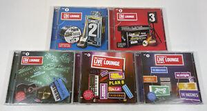 Various Artists : Radio 1's Live Lounge - Volume 2 3 4 5 6, 2-6 CD Album Bundle