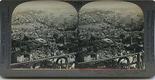 Constantinople Turquie Turkey Stereo argentique Vintage 1900