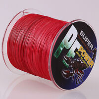 16 Strands 100M-2000M Red 100%pe Dyneema Braided Fishing Line 6-300LB