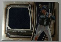 2020 Panini Select Game Used Relics Trent Grisham Rc Jersey San Diego Padres