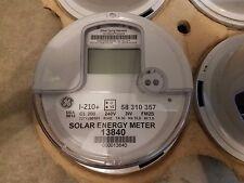 Ge I-210+ Digital Watthour Electric Smart Meter Cl 200 240V 3W Fm2S