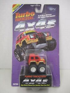 1989 Tonka Turbo Tricksters Pull Back -- Penny Racers - New on Sealed Card