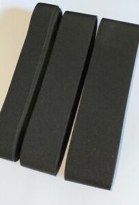 Heavy Duty BLACK Elastic, Perfect For Boots Bags Etc, 3 Size Options, VERY STIFF