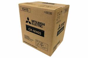 """Mitsubishi CK M 46 S Druckerpapier + Farbband für 750 Bilder 10x15 (4x6"""")"""