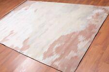 6' x 9' Handmade Industrial Abstract Wool & silk Oriental Area rug 6x9 Beige