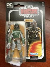 STAR WARS EMPIRE STRIKES BACK 40th ANNIVERSARY BLACK SERIES BOBA FETT NEW
