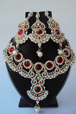 Designer Ethnic Indian Bollywood Bridal Wedding Jewelry Necklace Set