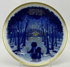 Santa Clara Spain Christmas Collector Plate LE 1972