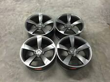 "19"" TTRS ROTOR Style Wheels DEEP CONCAVE Satin Gun Metal / Machined Audi A5 A7"