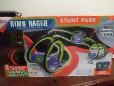 HEXBUG Ring Racer Stunt Park Ramp Constructing Toy  Rechargeable Ring Racer NEW