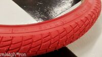 "New RED Old School Freestyle BMX Bike 20 x 1.95"" Bicycle TIRE"