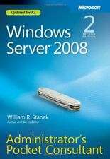 Windows Server® 2008 Administrators Pocket Consultant,William R. Stanek