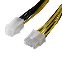 PCI Strom Kabel Adapter für Computer PC 8 Pole an P4 4 Pins Kupplung 12V interne