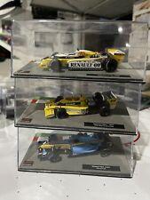 1/43 Modern & Classic Renault F1 Formula 1 Cars Trulli 2004, Jabouille 1977 & 79