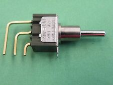 2Pcs 28V Miniature Toggle Switch SPDT Center Off Hi Quality PCB Right Angle EW12