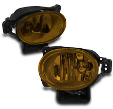 2007-2008 ACURA TL BASE TYPE-S FRONT BUMPER YELLOW DRIVING FOG LIGHTS LAMPS NEW