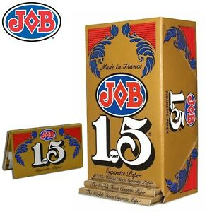Full Box JOB Gold 1 1/2 1.5 Rolling Papers 24 Booklet (24 Paper Each)