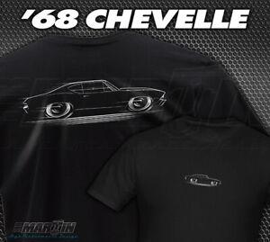 T-Shirt '68 Chevelle - 1968 Chevy SS Super Sport Chevrolet Malibu