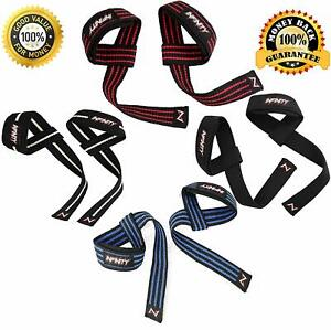 20 Pairs Infinity new Padded Heavy Weight Lifting Gym Strap Bars Grip Black