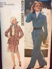 Simplicity Sewing Pattern 6603 Ladies / Misses Jacket Skirt Pants Size 18 Cut