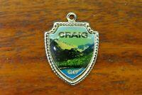 Vintage sterling silver CRAIG COLORADO STATE TRAVEL SHIELD charm #E13