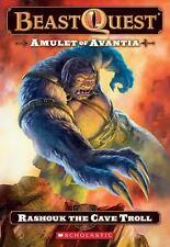 Beast Quest #21: Amulet of Avantia: Rashouk the Cave Troll by Blade, Adam, Good