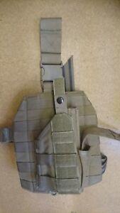 Genuine British Forces SBS Blackhawk Glock / Sig Desert Coyote Dropleg Holster