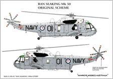 1/48 RAN DECALS; Westland Sea King Mk.50A Original Scheme