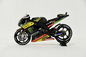 MINICHAMPS 1/12 Yamaha YZR-M1 Monster Yamaha Tech 3 Jonas Folger MotoGP 2017 NIB