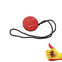 Anclaje Amarre Cordón de Seguridad adhesivo 3M para Gopro Hero 3 4 SJ4000 Yi Cam