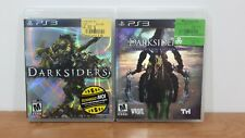Lot of 2 PS3 Games Darksiders I and II Sony PlayStation 3 Complete w/ Manual