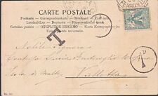 MALTA 1906 postcard ex Italy postage due 1d in circle.......................8839