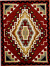 CHINLE Southwest Rug Design for Counted Cross Stitch PATTERN