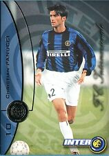 Figurina INTER CARDS 2000 DS n. 10 CHRISTIAN PANUCCI