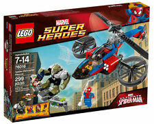 LEGO 76016 Marvel Super Heroes Spider-Man Spider-Helicopter Rescue New Retired