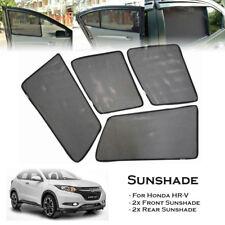 Car Window Side Sun Shades Sunshades Sun Visors For Honda HRV HR-V 15-Up (4 pcs)