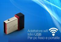 ds Adattatore Antenna Nano Mini USB Wireless WiFi Chiavetta Penna 150Mbps hsb