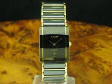 Rado Diastar Cerámica/Oro Abrigo Reloj Unisex con Fecha / Ref 160.0281.3N