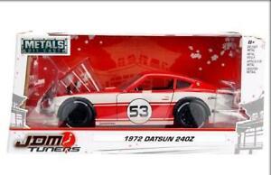 1:24 JADA toys JDM Turners - 1972 Datsun 240Z