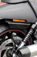 Halterung Halter beidseitig Harley Davidson Muscle VRSCF 2011-2017 bracket black