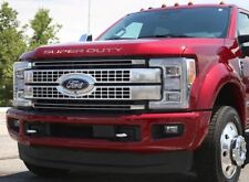 2017-19 Super Duty Raised Letters Inserts decals Hood,Tailgate,Dash Recon CHROME