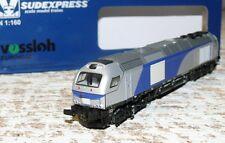 HS Sudexpress SU400516N Diesellok Euro 4000 HGK DE 39  Spur N