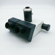 Leica Microscope Trinocular Head Tube 551002 with Camera Adapter 1.0x