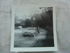 Vintage Car Photo Woman w/ 1962 Chevrolet Impala 827