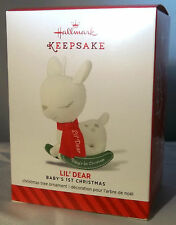 Hallmark Lil' Dear 2014 Keepsake Ornament - Baby's 1st Christmas  NEW-NR-MIB