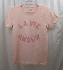 Women's J Crew T Shirt Small Amour