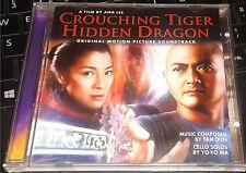 Crouching Tiger, Hidden Dragon (2001) soundtrack tan dun