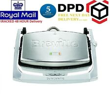 Nuevo Duraceramic Breville VST071 3 Rebanada Sandwich Press Plancha Maker