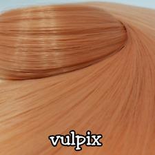TDP Vulpix Natural Peachy Blonde Doll Hair Hank Rerooting Dolls and Ponies