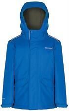 Regatta Hurdle Oxford Blue Childrens Waterproof Warm Coat Boys Kids School 5-6 Years